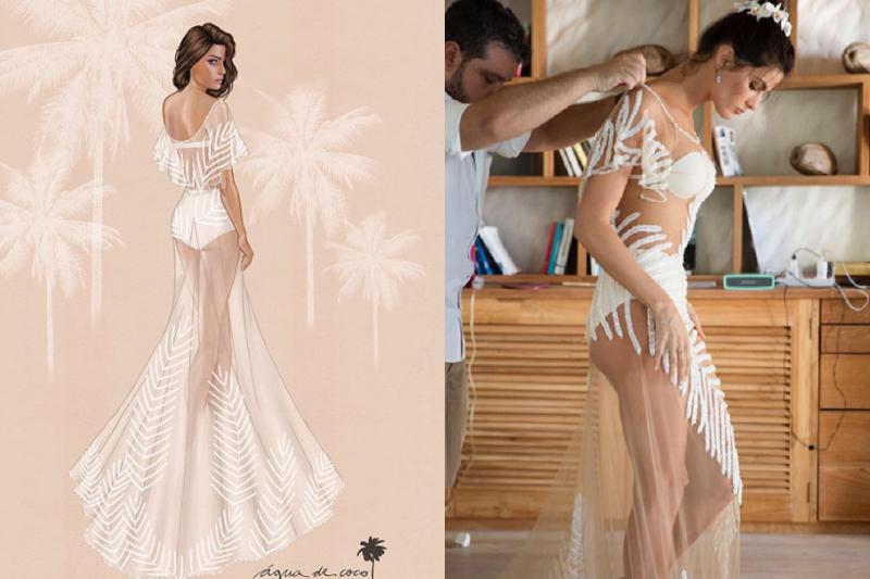 isabeli fontana vestido