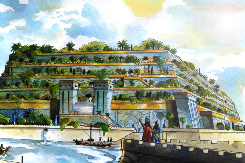 jardim suspenso da babilonia