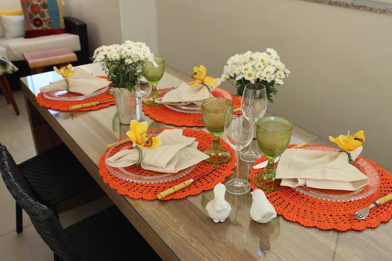 mesa almoco