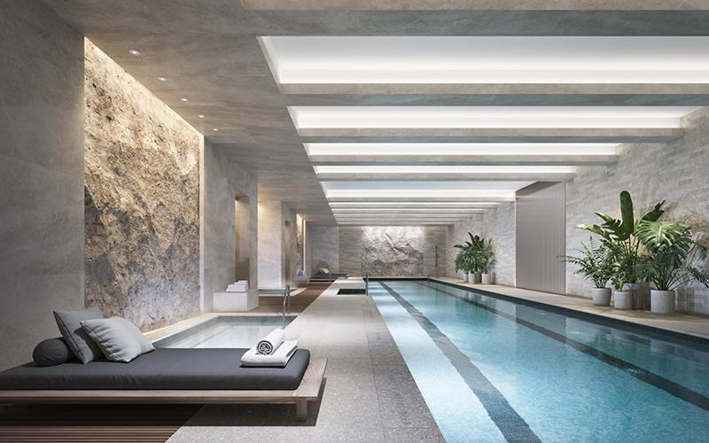 tour pelo apartamento gisele piscina