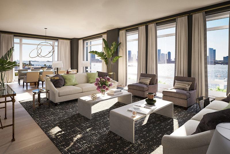 tour pelo apartamento gisele sala de estar com vista