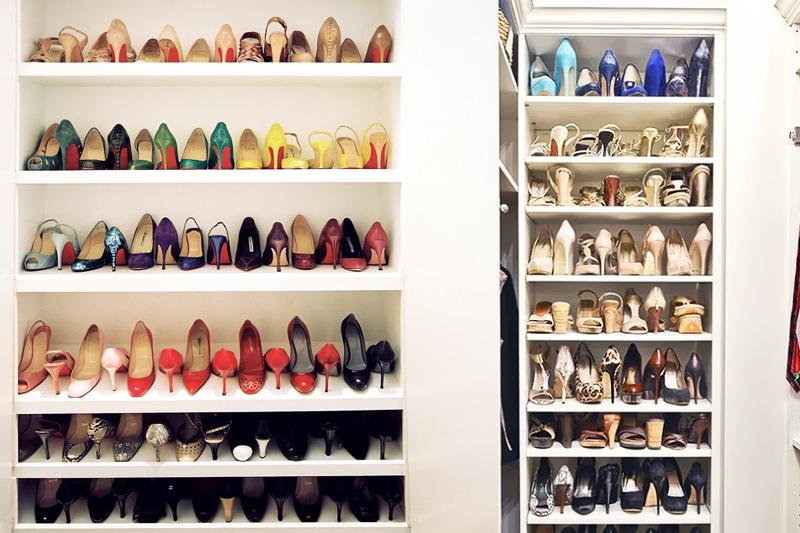 alterne os sapatos