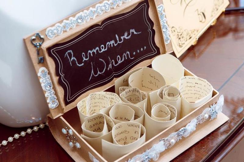 caixa de memorias casamento