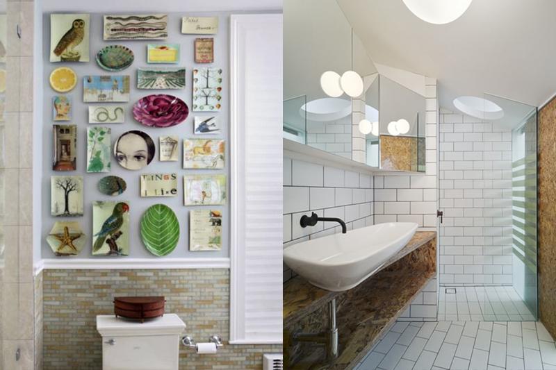 decoracao de banheiro criativa