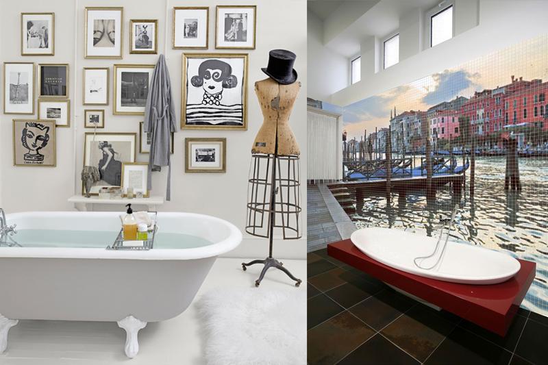 decoracao de banheiro diferente