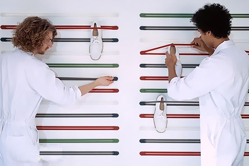 elasticos organizar sapatos