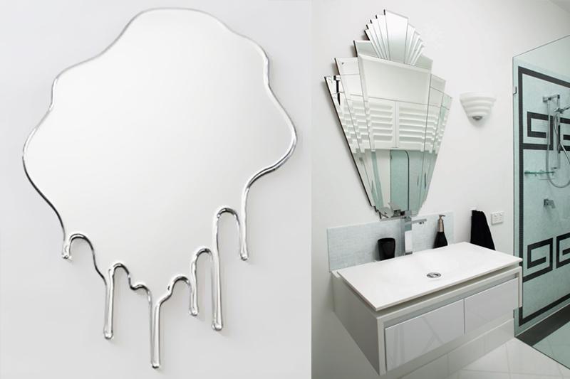 espelhos diferentes