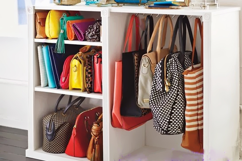 rack para bolsas