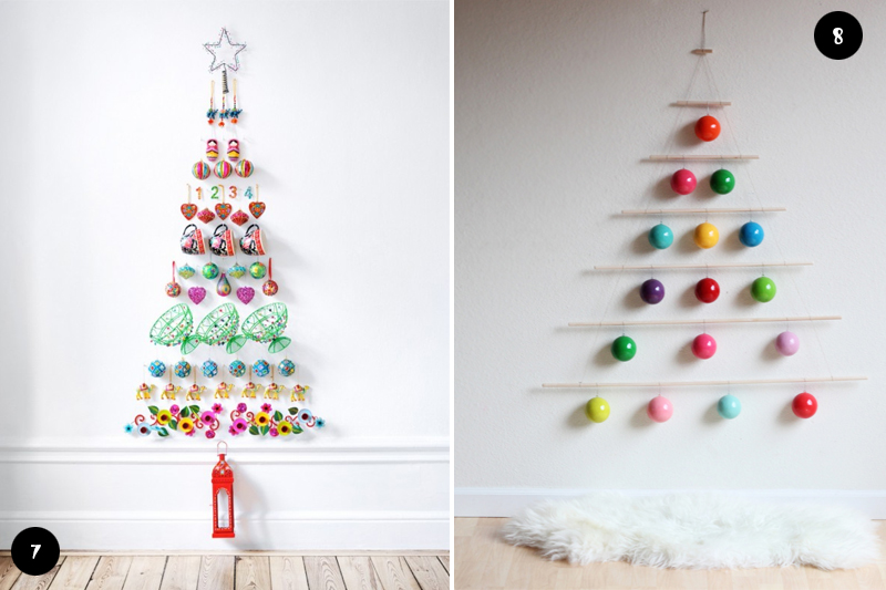 Arvores de Natal criativas
