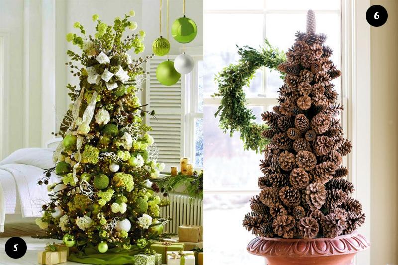 Arvores de Natal naturais