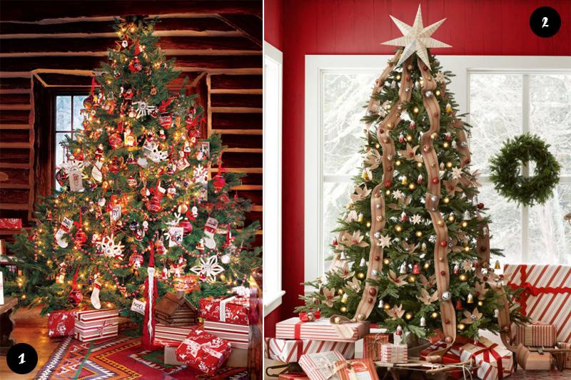 Arvores de Natal tradicionais