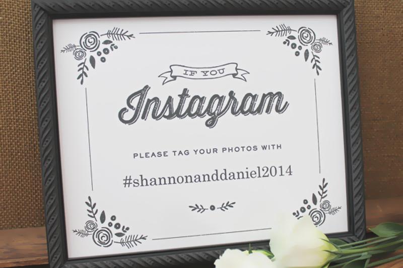 hashtags em casamentos