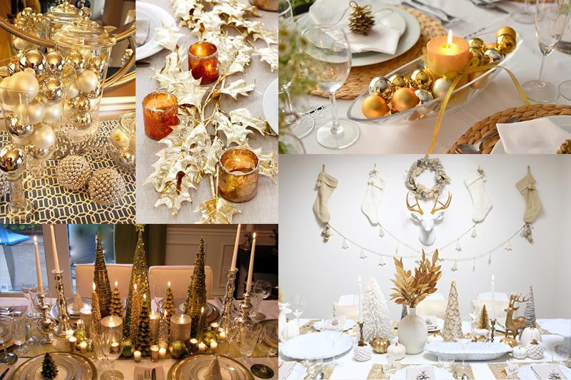 ideias de decoracao de mesa de natal