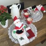 Mesa Posta de Natal — Café, Almoço e Jantar