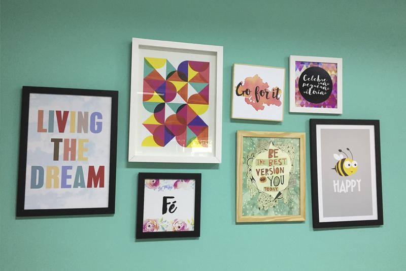 adornos de decoracao quadros pequenos