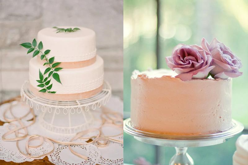 bolos de casamento pequenos e simples
