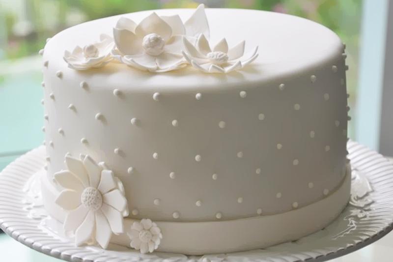 bolos de casamento simples