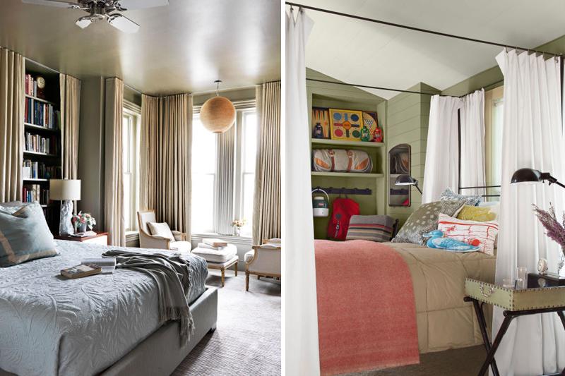 decoracao aconchegante cortinas