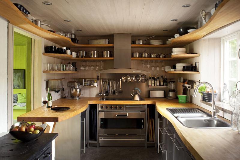 decoracao de cozinha com utensilios