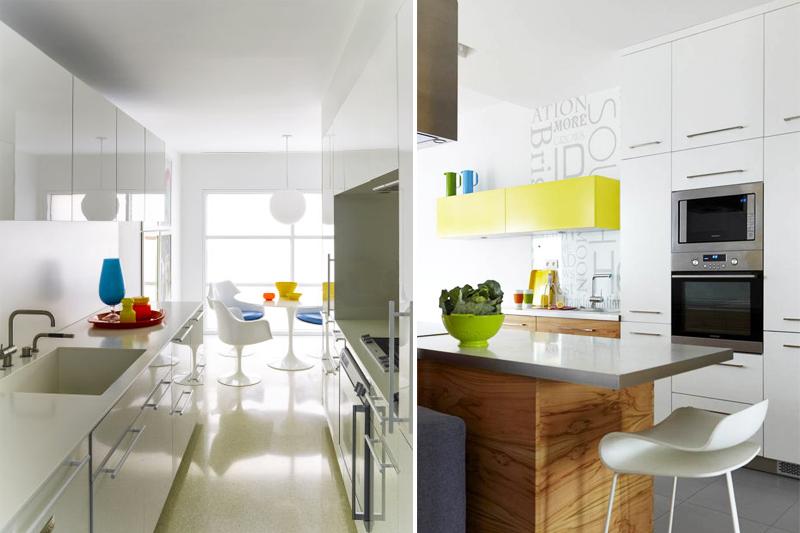 decoracao de cozinha minimalista