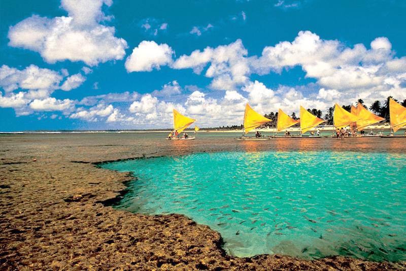 lugares para viajar em janeiro porto de galinhas