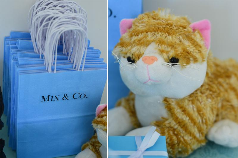 aniversario sabrina mix detalhes gato e sacola