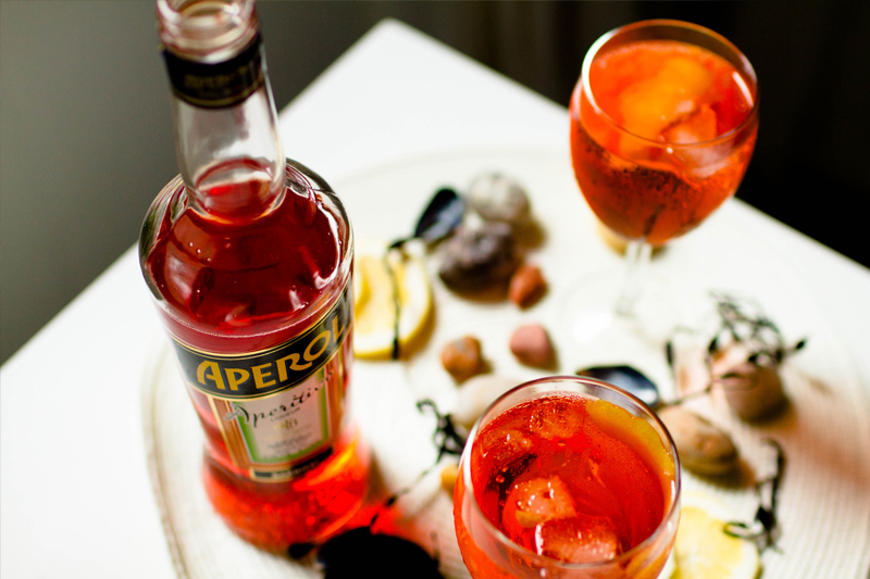 drinks para o carnaval aperol spritz