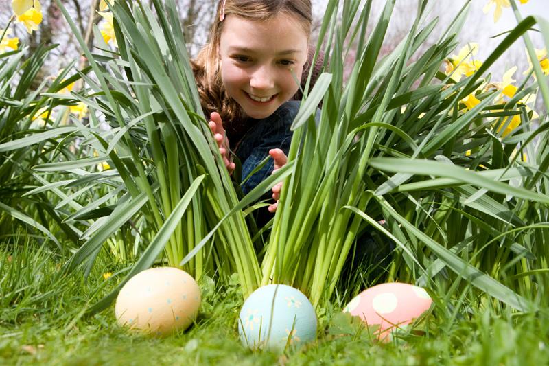 atividades para a pascoa caca ao tesouro com ovos