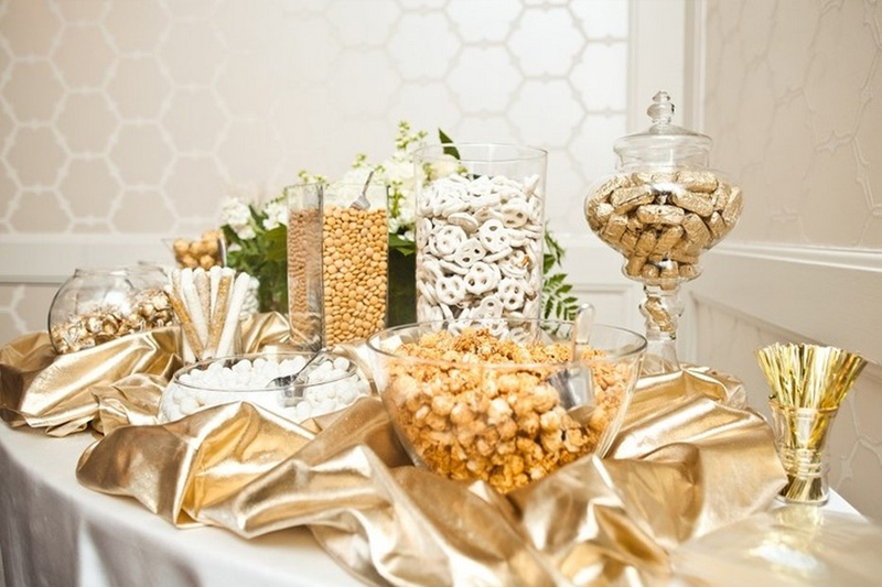 bodas de ouro decoracao dourada ideias
