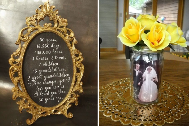 bodas de ouro ideias decoracao dourada