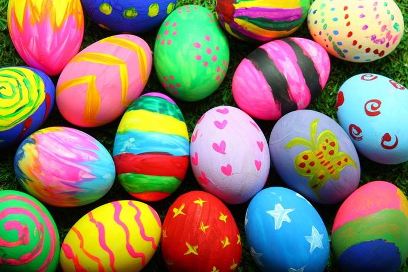 brincadeira para a pascoa pintar os ovos