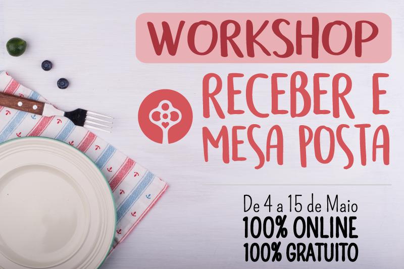 Imperdível - Workshop Receber e Mesa Posta