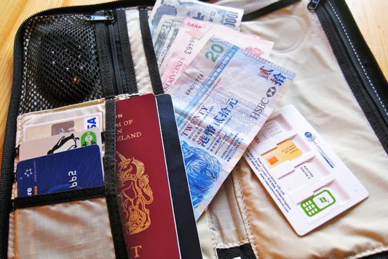 como organizar sua viagem separe documentos