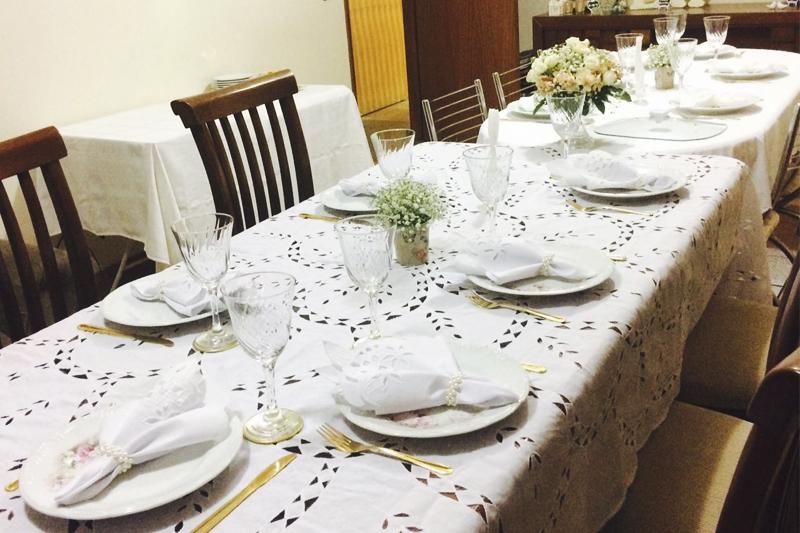 decoracao de mesa para noivado