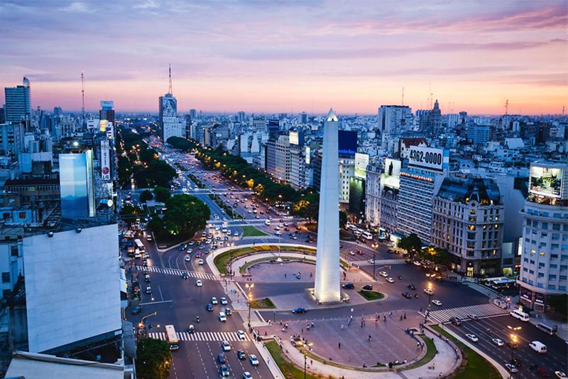 destinos internacionais baratos argentina