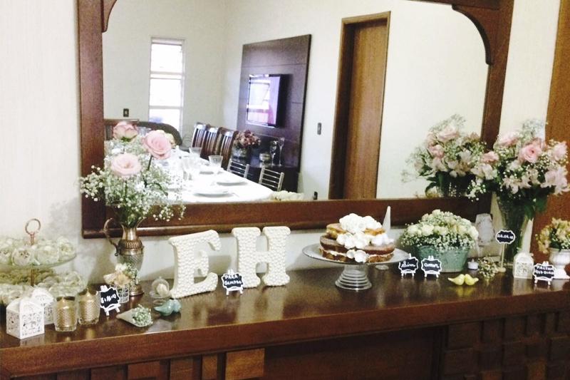 festa de noivado Ellen