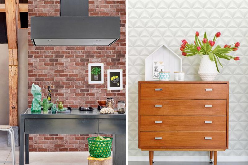 papel de parede com textura