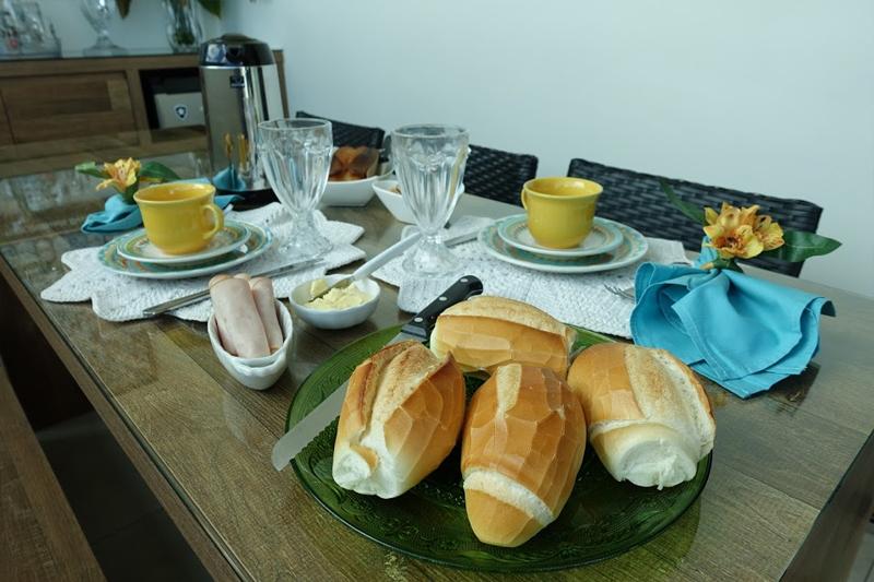 decoracao de mesa cafe da manha