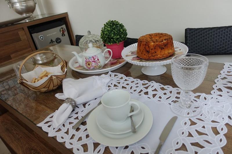 decoracao de mesa cafe da tarde