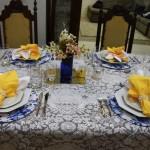 Espaço Leitora — Jantar da Cris
