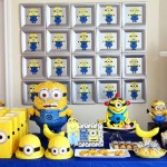 Decoração de Festa Infantil de Minions – 12 Ideias!