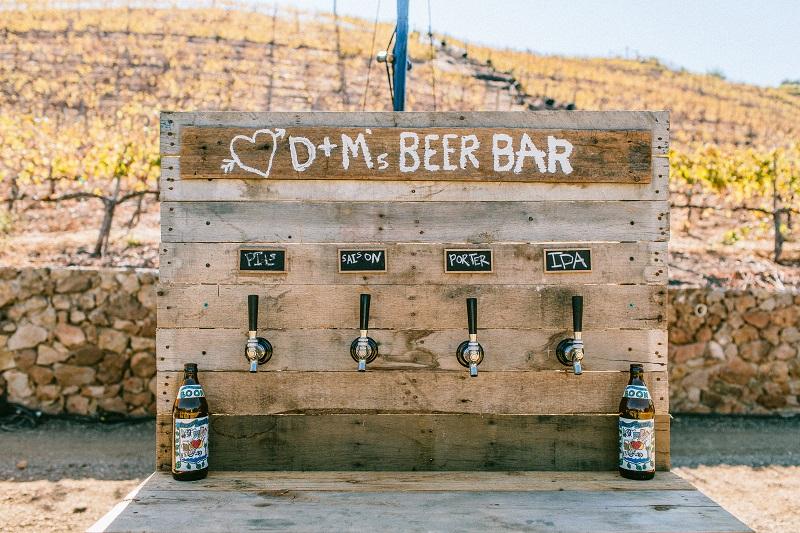 bar tematico de drinques para casamento