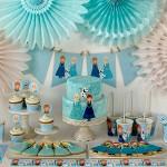 Decoração de Festa Infantil de Frozen — 15 Ideias DIY!