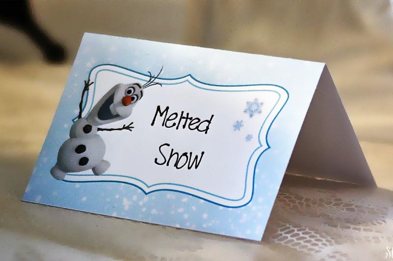 decoracao de festa para Frozen placas decorativas