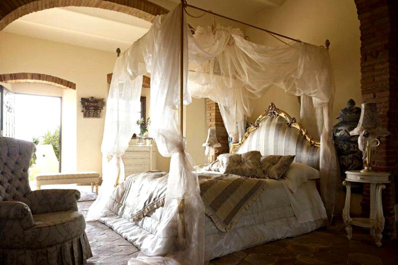 decoracao de quarto romantica com dossel