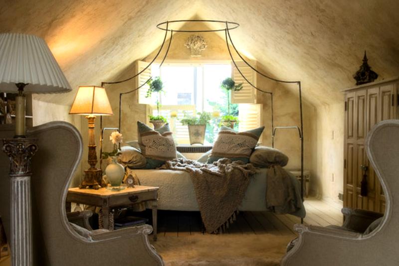 decoracao de quarto romantica