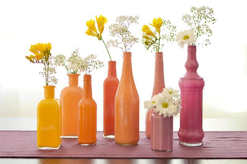 enfeite de aniversario simples vasos