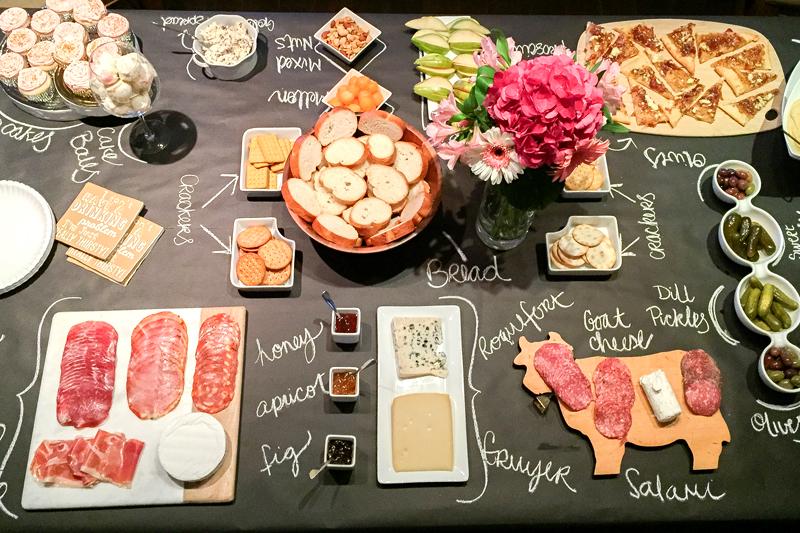 tema para aniversario de adulto noite de queijos e vinhos