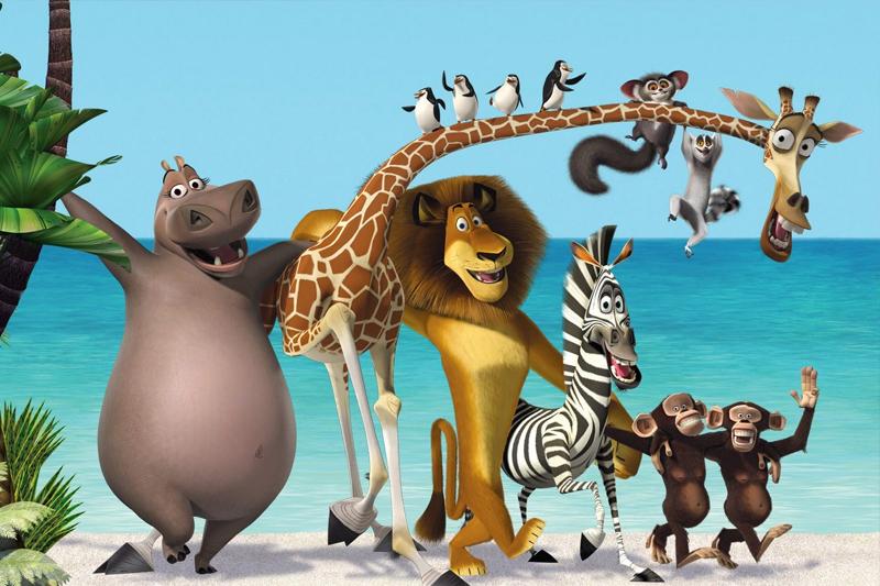 animacoes para assistir com as criancas madagascar