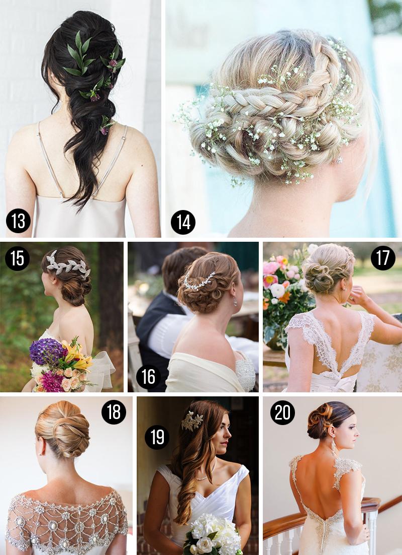 penteados para cabelos longos casamento
